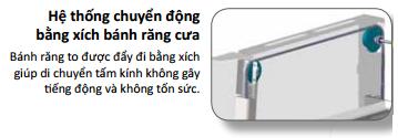 hệ thống cửa tủ hút EFA ESCO