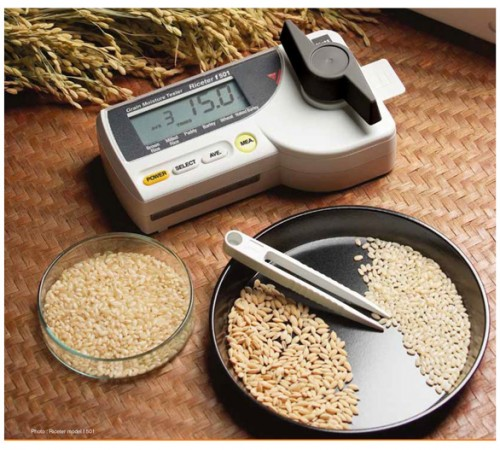 Máy đo độ ẩm gạo F511 Kett
